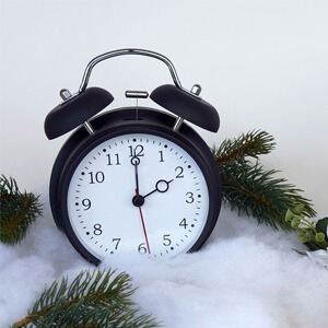 slaapproblemen wintertijd